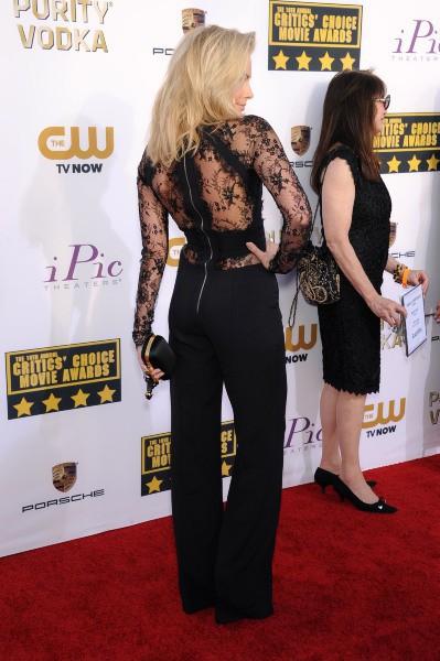 Margot Robbie lors de la cérémonie des Critics' Choice Movie Awards à Santa Monica, le 16 janvier 2014.