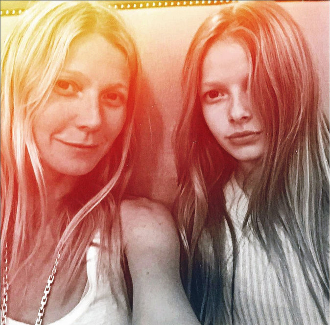 Gwyneth Paltrow et Apple Martin