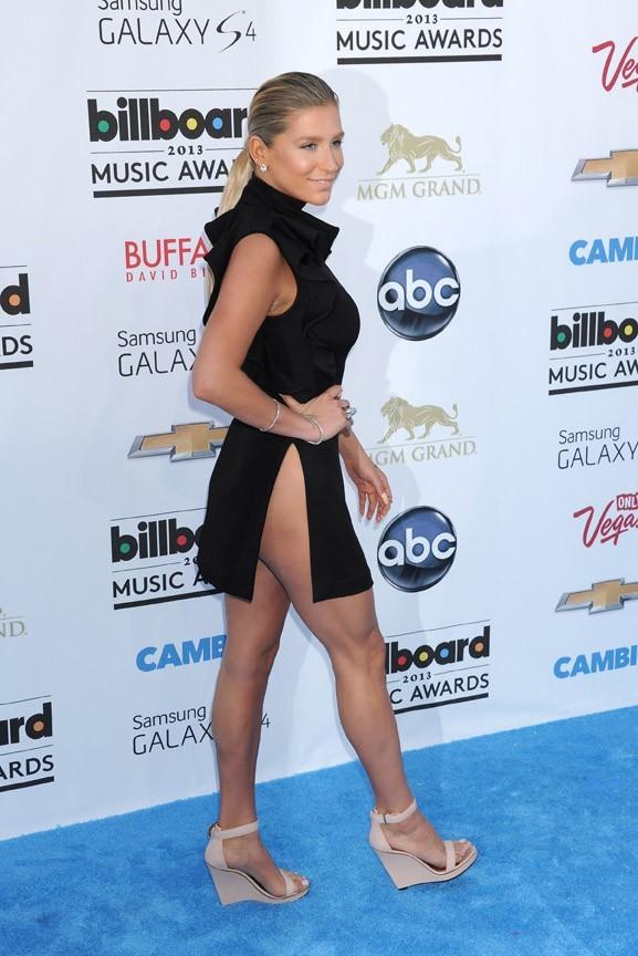 Kesha à la cérémonie des Billboard Music Awards, à Las Vegas, le 19 mai 2013