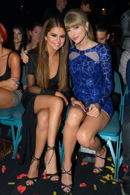 Taylor Swift et Selena Gomez lors des Billboard Music Awards à Las Vegas, le 19 mai 2013.