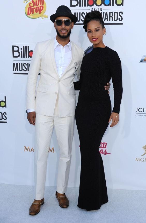 Swizz Beatz et Alicia Keys aux Billboard Music Awards 2012