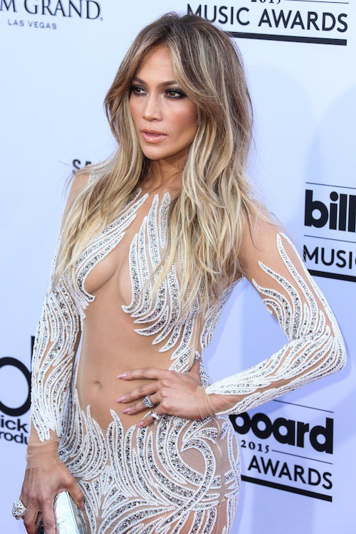Jennifer Lopez lors des Billboard Music Awards, à Las Vegas, le 17 mai 2015