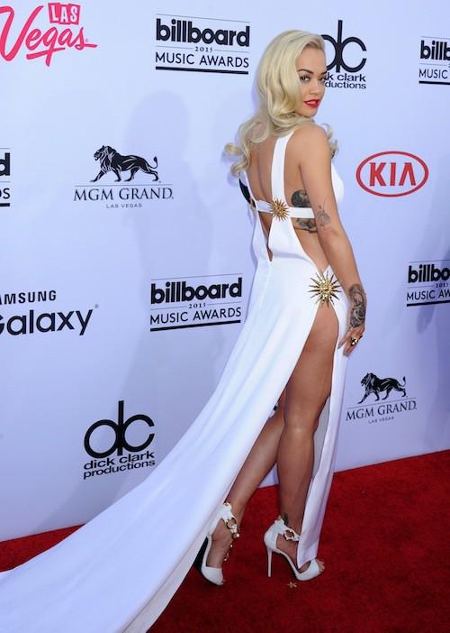 Photos : Billboard Music Awards 2015 : Rita Ora à moitié nue sur le red carpet !
