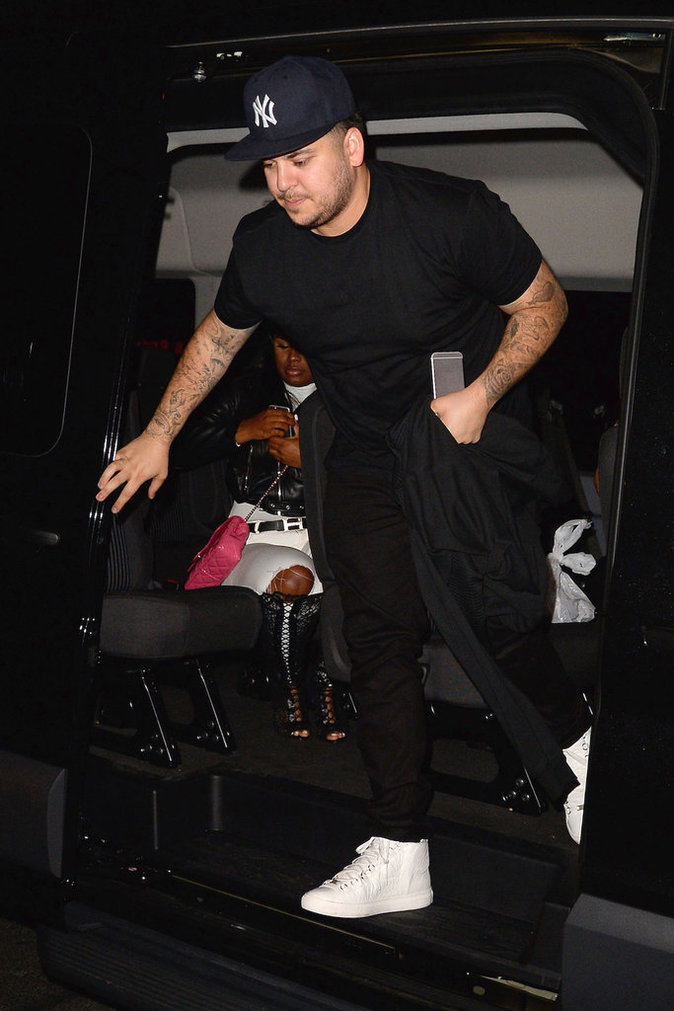 Blac Chyna et Rob Kardashian New York le 18 mai