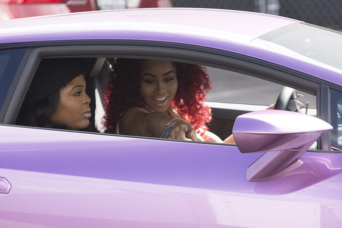 Photos : Blac Chyna enceinte : elle copie Kim !