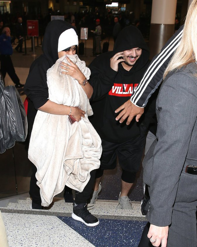 Blac Chyna et Rob Kardashian