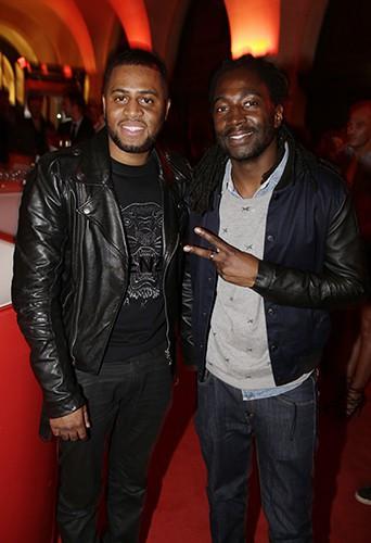 Axel Tony et Noom Diawara à Paris le 22 septembre 2014