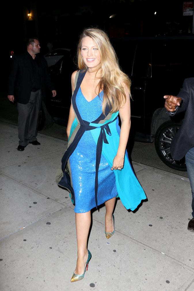 Blake Lively le 12 juillet à New York