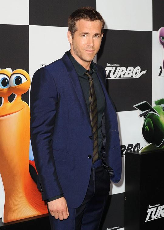 Ryan Reynolds à l'avant-première de Turbo à New-York le 9 juillet 2013