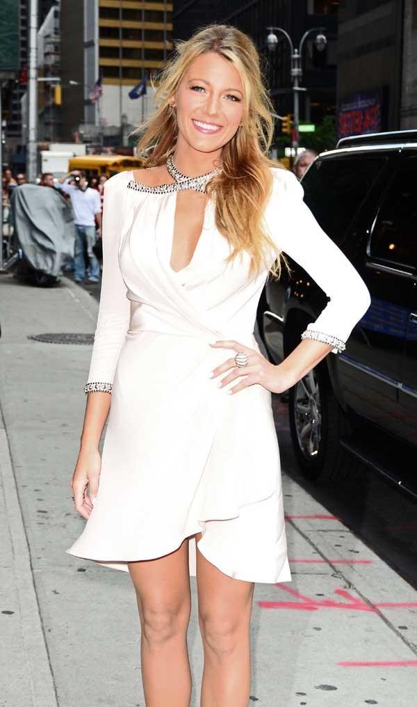 Blake Lively le 26 juin 2012 à New York