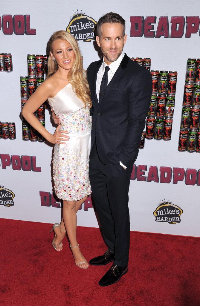 Blake Lively et Ryan Reynolds : complices et amoureux à avant première Dead Pool