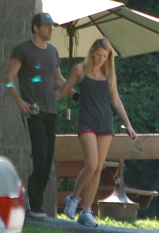 Blake Lively et Ryan Reynolds sortent de la gym