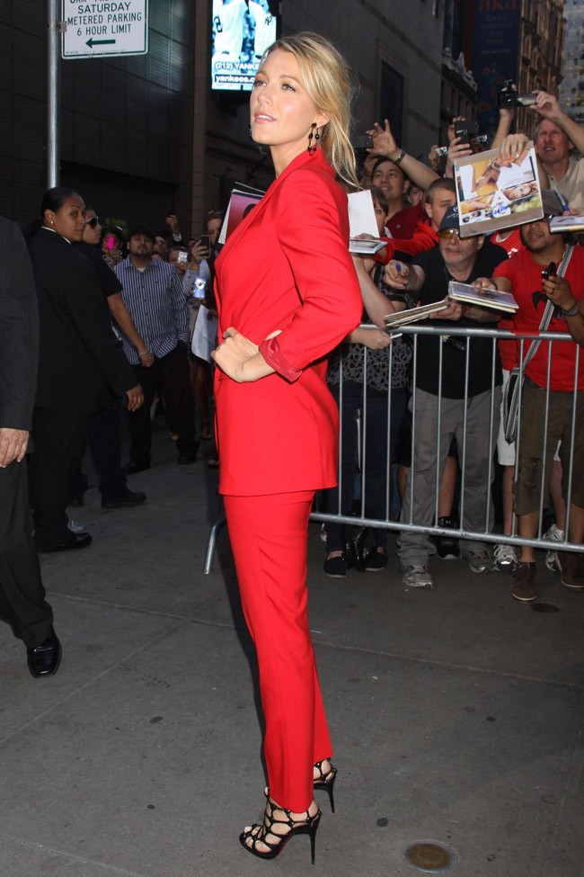 Blake Lively le 27 juin 2012 à New York