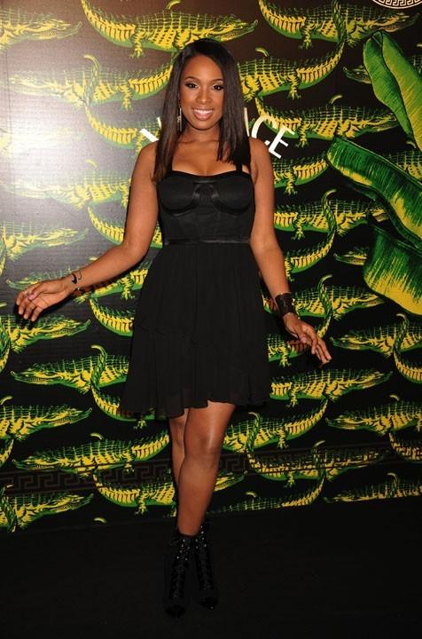 Jennifer Hudson aussi a choisi de porter du noir !