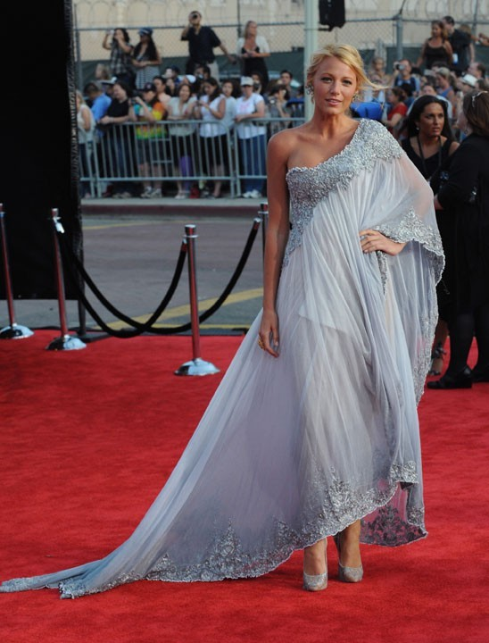 Blake Lively lors de la soirée BAFTA Brits à Los Angeles, le 9 juillet 2011.