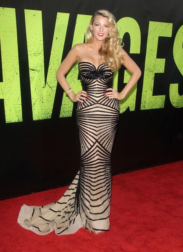 Blake Lively à l'avant-première de Savages à Hollywood le 25 juin 2012