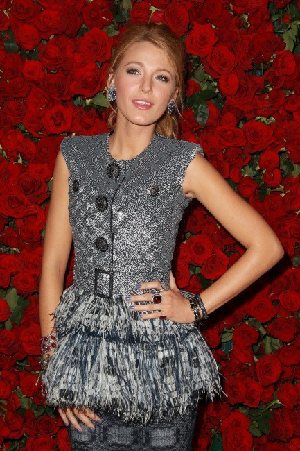 Blake Lively lors de la soirée Museum of Modern Art Film benefit à New York, le 15 novembre 2011.
