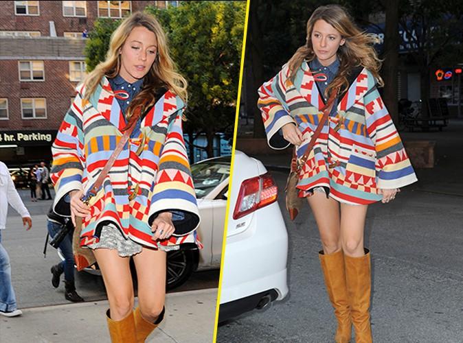 Blake Lively : maman enceinte p�tillante et color�e, en vir�e shopping pour le futur b�b� !