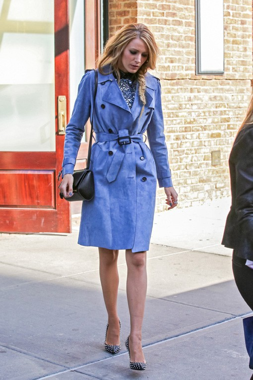Blake Lively à New-York le 6 mai 2014