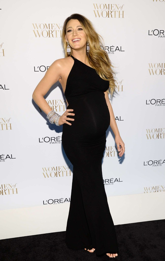 "Blake Lively à la soirée ""Women Of Worth Celebration"" organisée par L'Oréal Paris à New-York le 2 décembre 2014"