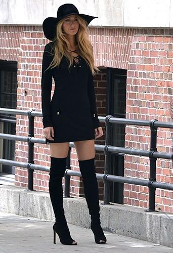 Blake Lively à New-York le 7 mai 2013