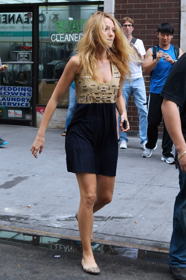 Blake Lively le 11 août 2012 à New York