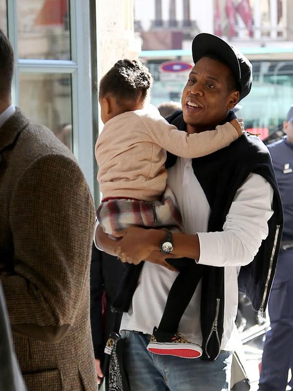Jay-Z et sa fille Blue-Ivy