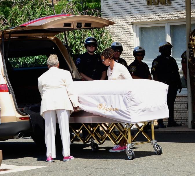 Bobbi Kristina a été enterrée dans le New Jersey