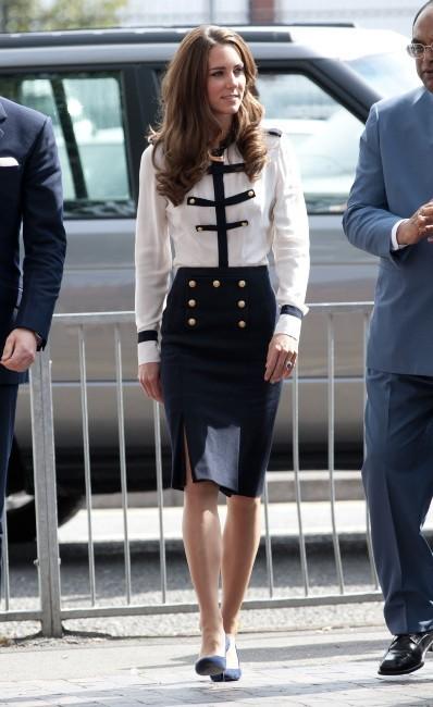 Kate Middleton : la très jolie princesse... parfois accusée d'être trop maigre...