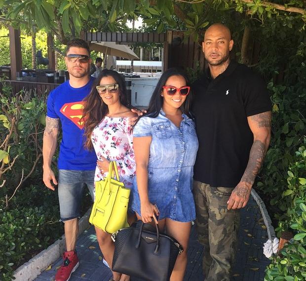 Photos : Booba : papa au top avec Luna et Omar, Patricia aux anges !