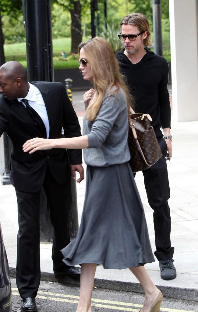 Angelina Jolie, toujours classe !