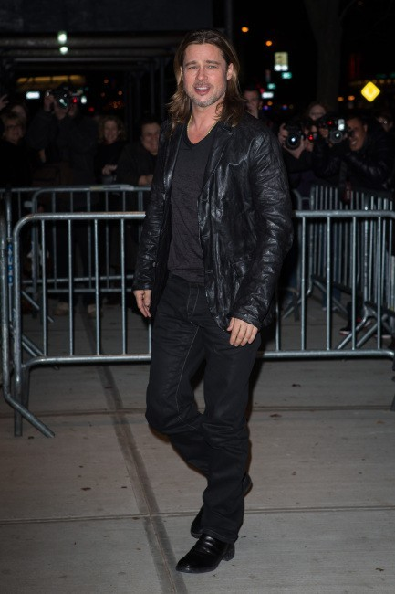 Brad Pitt le 26 novembre 2012 à New York