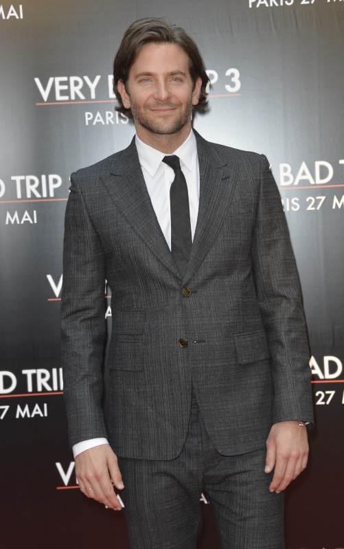 Bradley Cooper le 27 mai 2013 à Paris