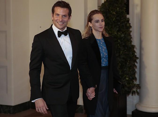 Bradley Cooper et Suki Waterhouse à Washington le 11 février 2014