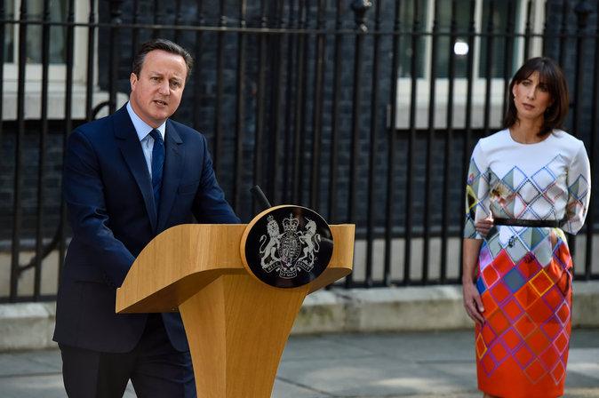 David Cameron démissionne