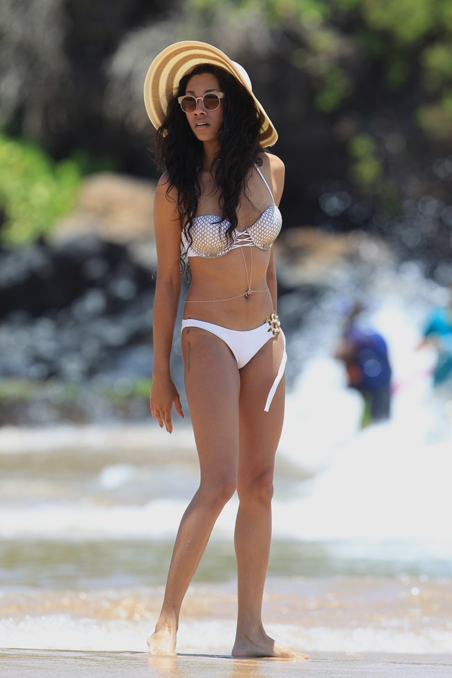 Bria et Shayne Murphy en vacances à Hawaï le 11 juin 2013