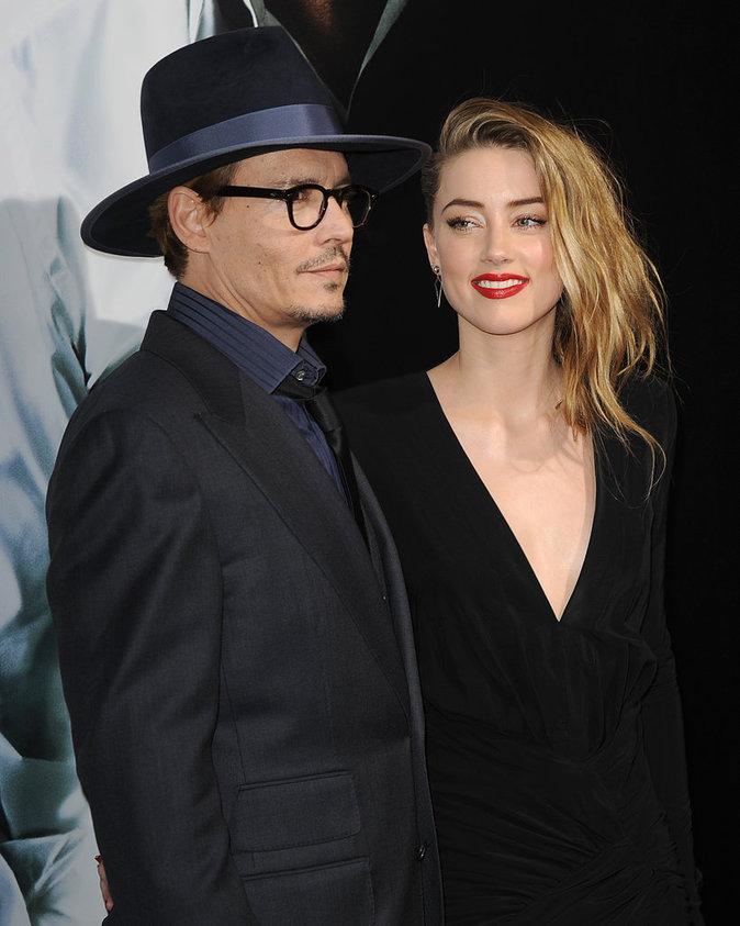Amber Heard et Johnny Depp