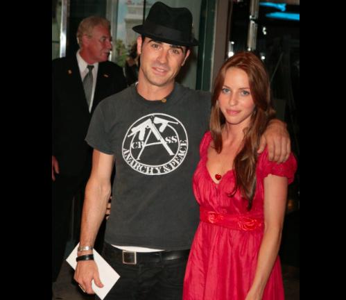 Justin Theroux et sa première femme Vera