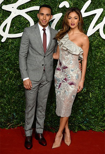 Photos : British Fashion Awards 2014 : Nicole Scherzinger : épanouie et radieuse au côté de son Lewis !