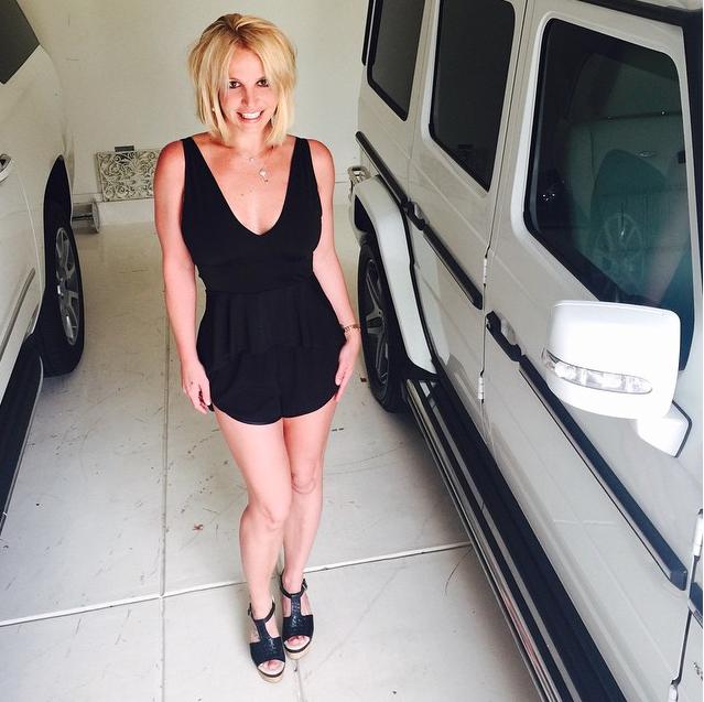 Britney Spears le 10 juin 2015