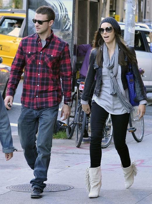 Justin Timberlake et Jessica Biel, les futurs mariés ultra-discrets !
