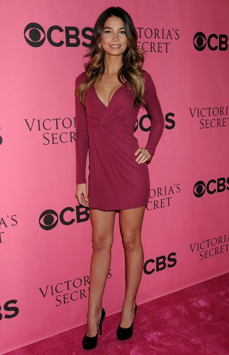 Lily Aldridge, l'autre égérie Victoria's Secret enceinte !
