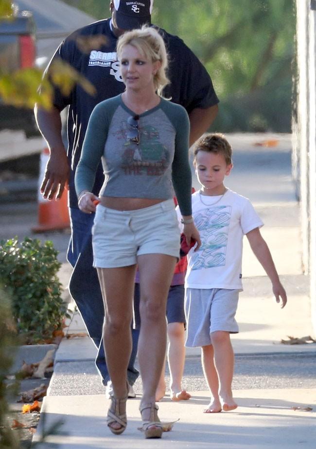 Britney Spears le 19 octobre 2012 à Los Angeles