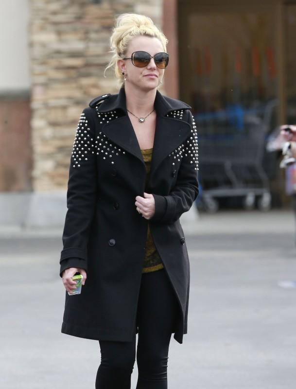 Britney Spears le 19 février 2013 à Calabasas