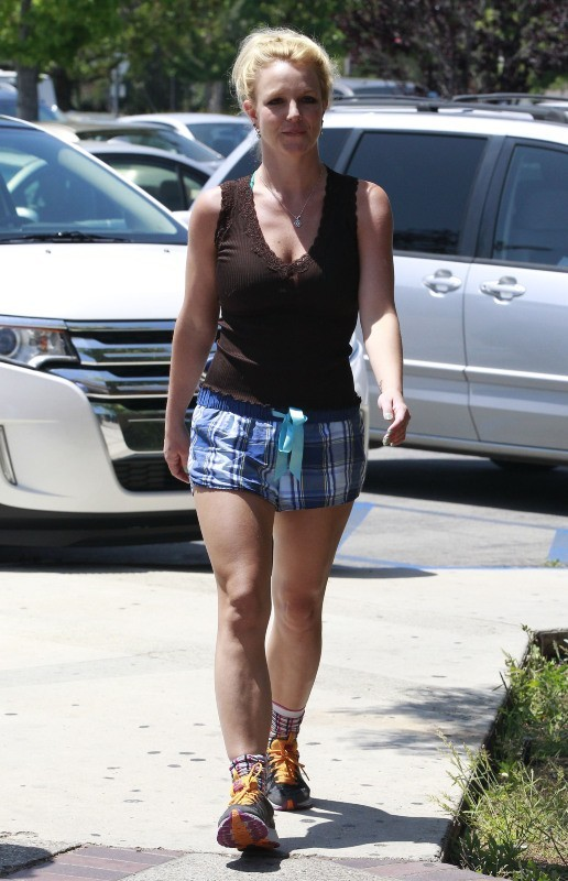 Britney Spears le 29 avril 2013 à Thousand Oaks