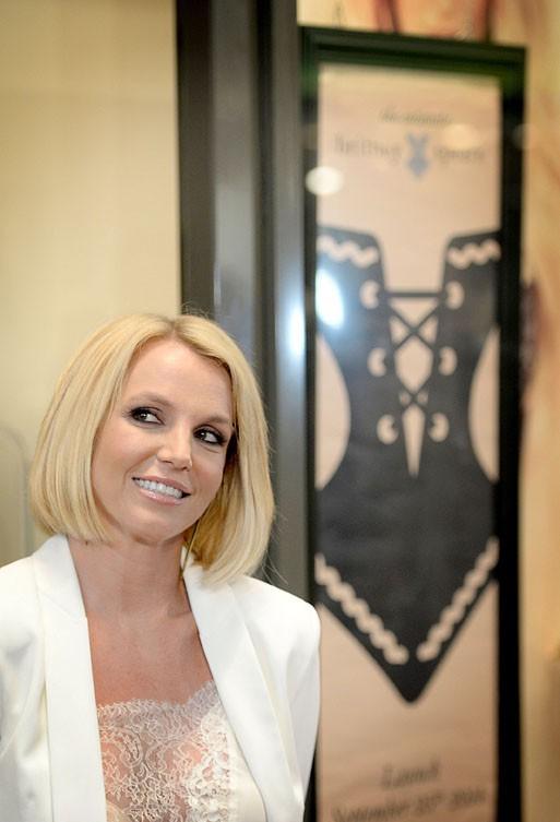 Britney Spears en Allemagne le 25 septembre 2014