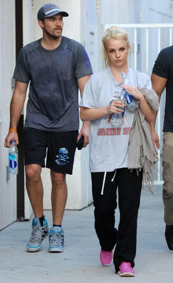 Britney Spears et David Lucado à Santa Monica le 13 janvier 2014