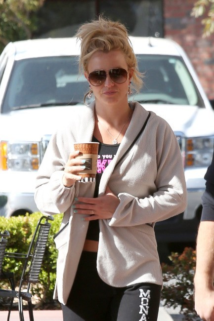 Britney Spears, nature et pas vraiment glam au quotidien