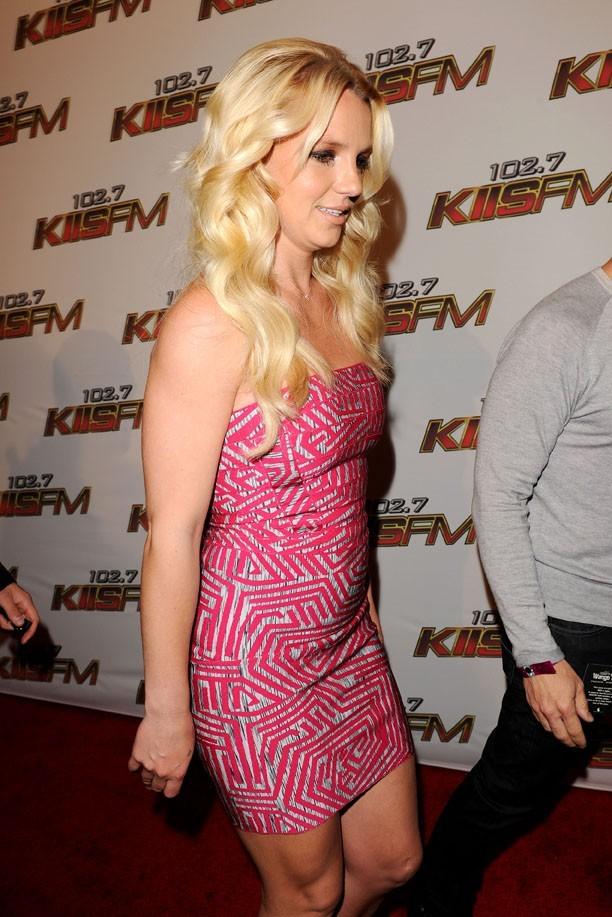 D'un côté ou de l'autre Britney est impeccable !