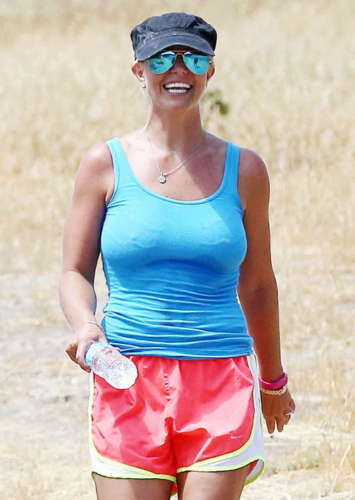 Britney Spears à Santa Monica le 21 juillet 2014